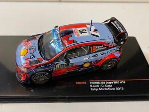 Hyundai i20 WRC Rallye Loeb Monte Carlo 2019 #19 Ixo  1:43 1/43 RAM 701