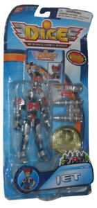 Dice DNA Integrated Cybernetic Bandai Jet Action Figure