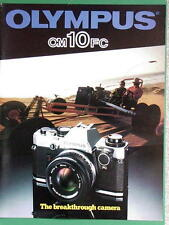 OLYMPUS OM-10FC BOOKLET 215mm x 280mm (8.5''x 11'') 14 pages 04/1982 RARE