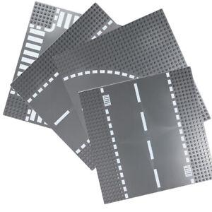 Brick Road Base Plate 32x32 Studs 25cm Compatible Construction Block - 4 PACK