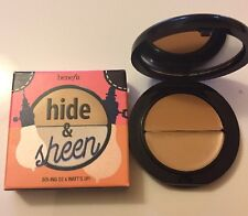 benefit cosmetics Hide & Sheen boi ing concealer corrector 02 & Watt's Up