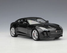 Welly 1:24 JAGUAR F-Type FT Coupe Diecast Model Sports Racing Car Toy Black NIB