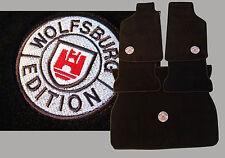 Fußmatten + Kofferaumteppich für Golf 1 Cabriolet,cabrio Wolfsburg Edition Stick
