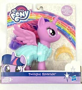"My Little Pony Twilight Sparkle Snap On Fashion Dress Up Toy MLP 6"" Figure"