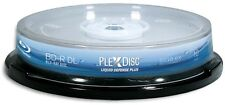 10-Pak PlexDisc 6X =Liquid Defense Plus= Glossy Water-Resist INKJET 50GB BD-R DL