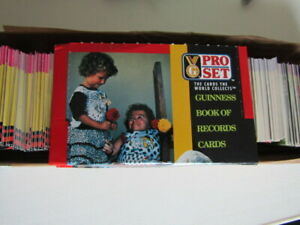 Pro Set  1992 Guinness Book of Records Trade Cards Card Variants (eb2)