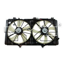 NEW DUAL RADIATOR AND CONDENSER COOLING FAN ASSEMBLY TOYOTA CAMRY, VENZA- 622420