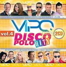 "= VIPO DISCO POLO HITY vol.4 + ""BUJAJ SIE""  /  /disco polo & dance/2 CD Sealed"