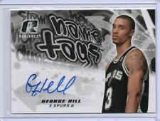 (B40) 08-09 George Hill UD Radiance NAME TAGS AUTO RC/ROOKIE #NT-GH