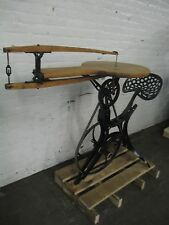 Antique W.F. & J. BARNES Pedal Operated Bicycle Style Scroll Saw, Circa 1876