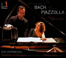 Bach/Piazzolla: Works for Bandoneon & Piano, Piazzolla, Bach, New
