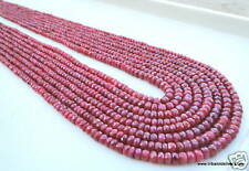 675 CTW 8 Strand natural Ruby Gemstone Beads Necklace