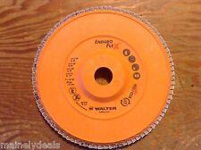 "Walter Enduro Flex 15-R704 7""x 7/8"" Gr.40 Flap Disk New"