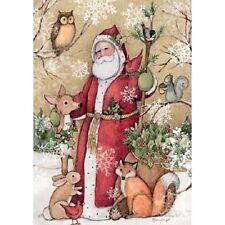 NEW! Lang Puzzles Woodland Santa 300 piece extra large christmas jigsaw puzzle
