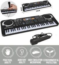 61 Keys Digital Music Electronic Keyboard Electric Piano Organ Instrument W/Mic