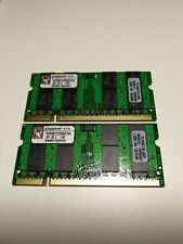 Kingston 4GB (2x2GB) DDR2 667MHz SODIMM Laptop Memory RAM KVR667D2S5K2/4G