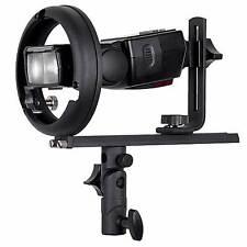 Bowens s-type fit adapter for speedlight flash adaptor strobist snoot flash gun