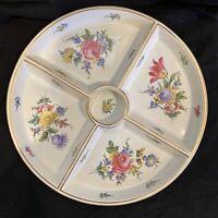 "Antique Carl Thieme Dresden/Gump Porcelain Hand Painted Plate 12"""