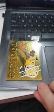 1996-97 NBA Hoops KOBE BRYANT Gold Foil Rookie Card