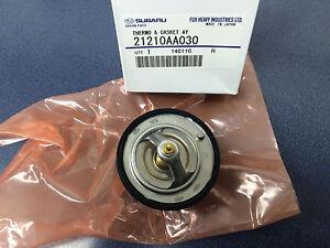 Subaru Thermostat & Gasket Kit Legacy Forester Outback Impreza OEM 21210AA030