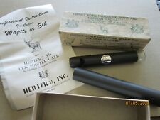 Herter'S Elk Wapiti European Stag Game Call Whistle Sporting Instructions 1955