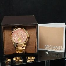 Ladies Michael Kors Runway Chronograph Watch (MK6161)