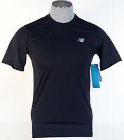 New Balance NB Dry Moisture Wicking Black Athletic Shirt Mens NWT