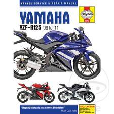 Yamaha YZF-R 125 2010 Haynes Service Repair Manual 5543