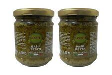 Sanniti Basil Pesto, 6.7 oz Grocery & Gourmet Food Italian sauce    (Pack of 2)