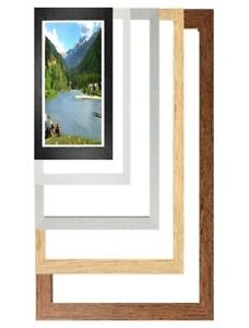 Bespoke Photo Picture Poster Frame Any Size & Colours