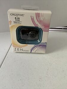Creative Zen Stone 1 GB MP3 Player Black BRAND NEW SEALED BOX!
