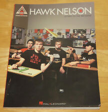 Hawk Nelson Signed Letters to the President Book Guitar Version Autographed