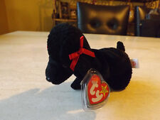Ty Beanie Baby GiGi the French Poodle 1997 MWMT retired ERRORS