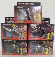 TRANSFORMERS G1 Reissue Dinobots set Grimlock/Swoop/Slag/Snarl/Sludge MISB