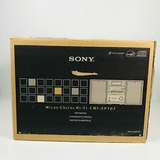 New Sony CMT-EP707 Micro Hi-Fi Component CD Stereo System 3 Disc MegaBass