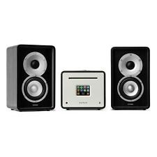 NUMAN Unison Impianto Stereo Amplificatore Casse Lettore CD Diffusore Nero