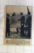 1940 East India Fund Flight, Captain Harold Balfour, Sir Alexander Murray
