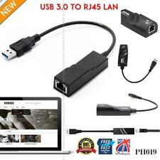 USB 3.0 to Ethernet RJ45 LAN Network Adapter 10/100/1000 Converter Cable PH019