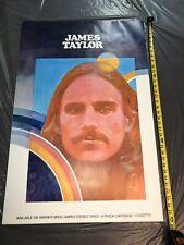 James Taylor Promo Poster Never Folded