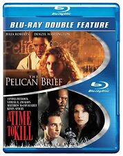 A TIME TO KILL / THE PELICAN BRIEF -  Blu Ray - Sealed Region free