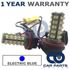2X Canbus Bleu H11 60 SMD DEL Ampoules Anti-brouillard pour Audi A1 A4 A5 A6 A8 Q3 Q5 TT