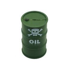Plastic Öl Fass Fässer Tonne Oil Fuel Drum Tank für 1/10 RC Crawler Truck Cars