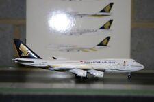 "Blue Angle 1:400 Singapore Airlines Boeing 747-400 9V-SMZ ""50th"" (JM74703)"