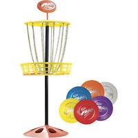 Wham-O Mini Frisbee Golf Set - 6 Discs, 1 Target