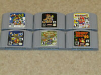 N64 Nintendo 64 Brand New Excellent Condition Video Game Repros(MORE GAMES SOON)