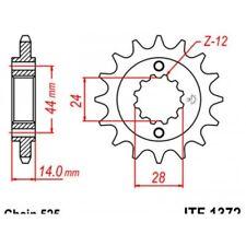 Pignon acier 17 dents jt chaîne 525 vt750c2 shadow Jt sprockets JTF1372.17