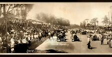 """1913 Corona Speedway, CA Vintage Panoramic Photograph 30"""" Long Frame Not Include"""
