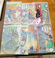 Grendal Comico Vol2  Complete Set 1,2,3,4,5,6,7,8,9,10 Full Run AVERAGE VFNM-NM-