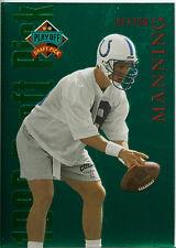 1998 PLAYOFF DRAFT PICK PEYTON MANNING #1  ROOKIE CARD RC