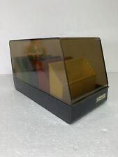 Vintage SRW Microdex 25 Computer Floppy Disk Holder Organizer Case Storage Box